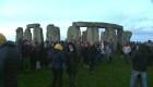Solsticio de invierno en el emblemático Stonehenge