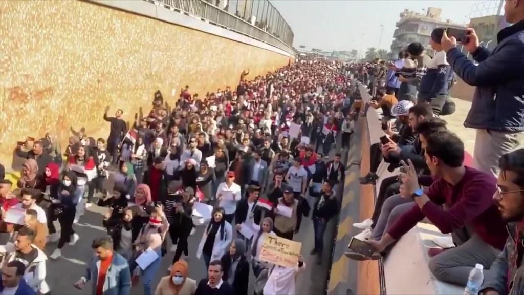 Protestas en Iraq: aumentan los fallecidos