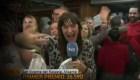 """Reportera gana parte de """"el Gordo"""" y se entera en vivo"""