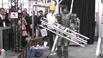 Este robot está diseñado para salvar vidas