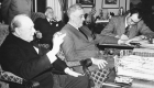 La Navidad unió a Roosevelt y Churchill