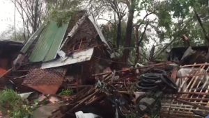 Tifón en Filipinas deja 3 muertos