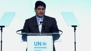 Costa Rica, premiado por su lucha contra el cambio climático