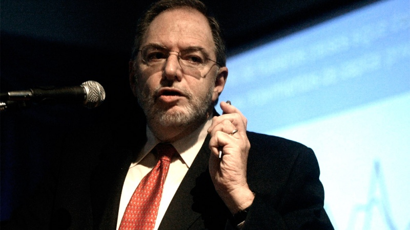 """Claudio Loser: """"Alberto Fernández no va a ser un hombre imprudente"""". (Foto de Télam)."""