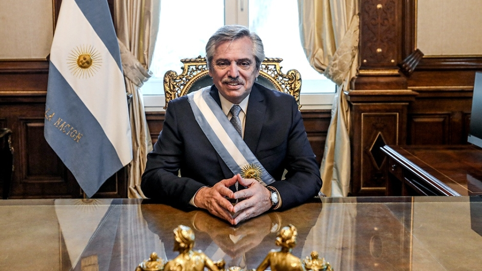 Los desafíos políticos en el comienzo de la era Alberto Fernández. (Foto de Télam).