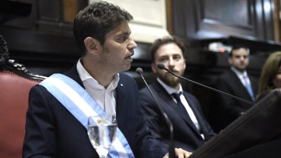 Impuesto bonaerense: se cayó la sesión por la reforma impositiva impulsada por Kicillof. (Foto de Télam).