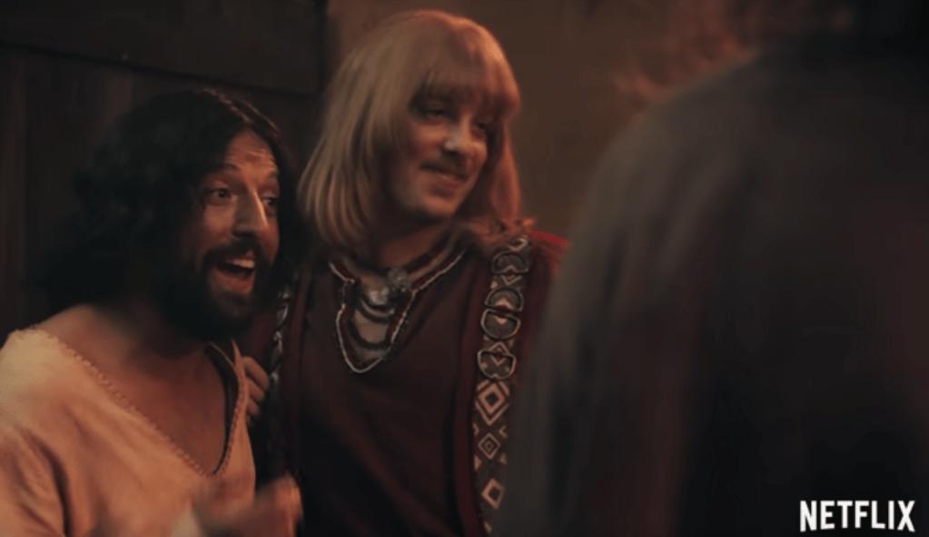 """Escena de """"La Primera Tentación de Cristo"""" de Netflix."""
