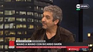 Ricardo Darín en CNN Radio: Gallardo, Maradona y el encuentro con Messi en Barcelona