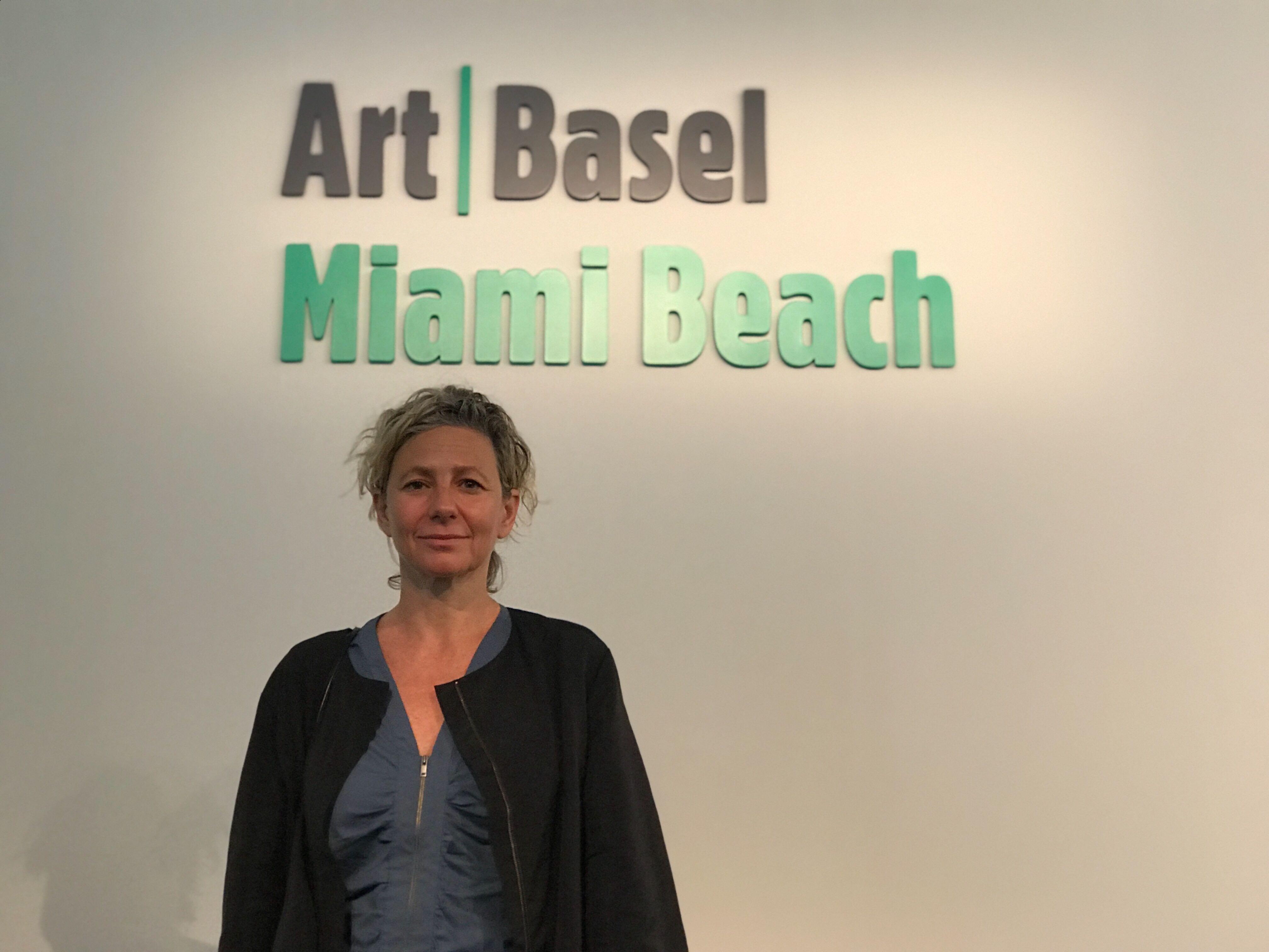 """Magali Arriola, curadora de """"Meridians"""" en ArtBasel Miami Beach"""