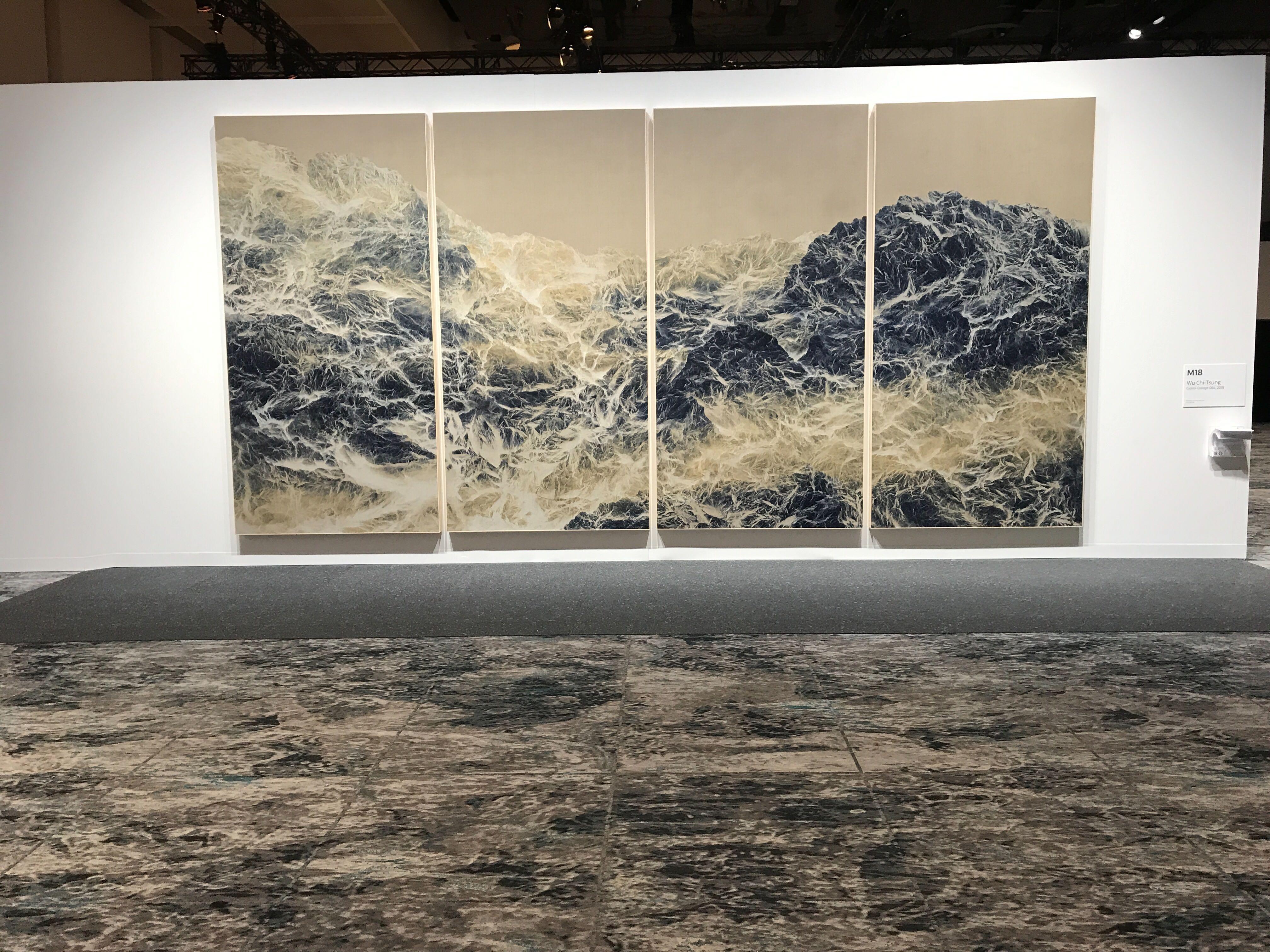 Fotografía del Cyano Collage de Wu Chi Tsung , Fotografía de Miguel Ángel Antoñanzas