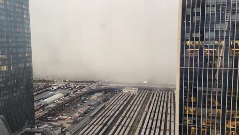 nueva york nieve