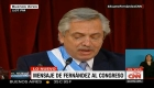 Alberto Fernández citó a Raúl Alfonsín