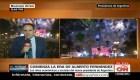 Finalizan los festejos en Plaza de Mayo