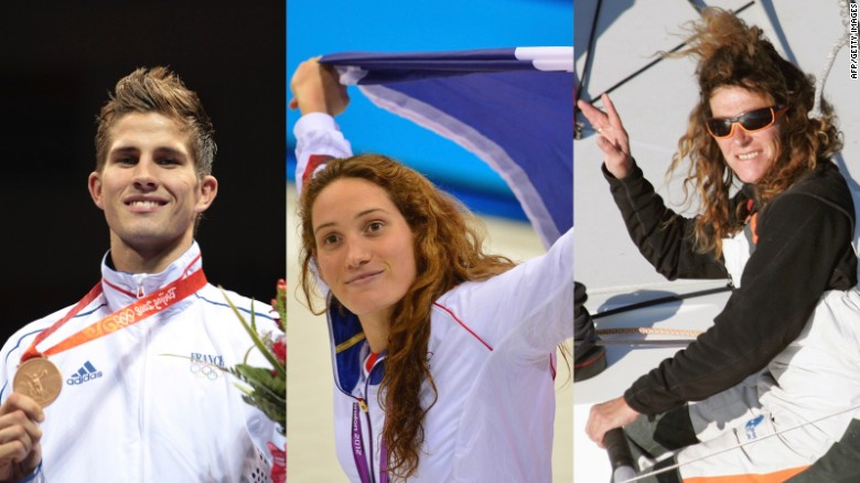 French athletes Alex Vastine, Camille Muffat and Florence Arthaud died in a helicopter crash in Argentina.