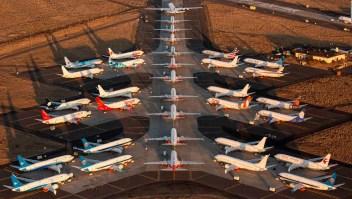 Boeing concluye el año con menos pedidos de aviones