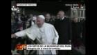 Cuestionan la seguridad del Papa Francisco tras incidente con feligresa.