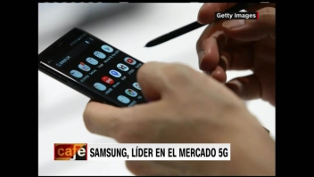 Samsung se posesiona como líder en el mercado