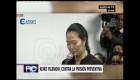 Keiko Fujimori aprovecha su libertad