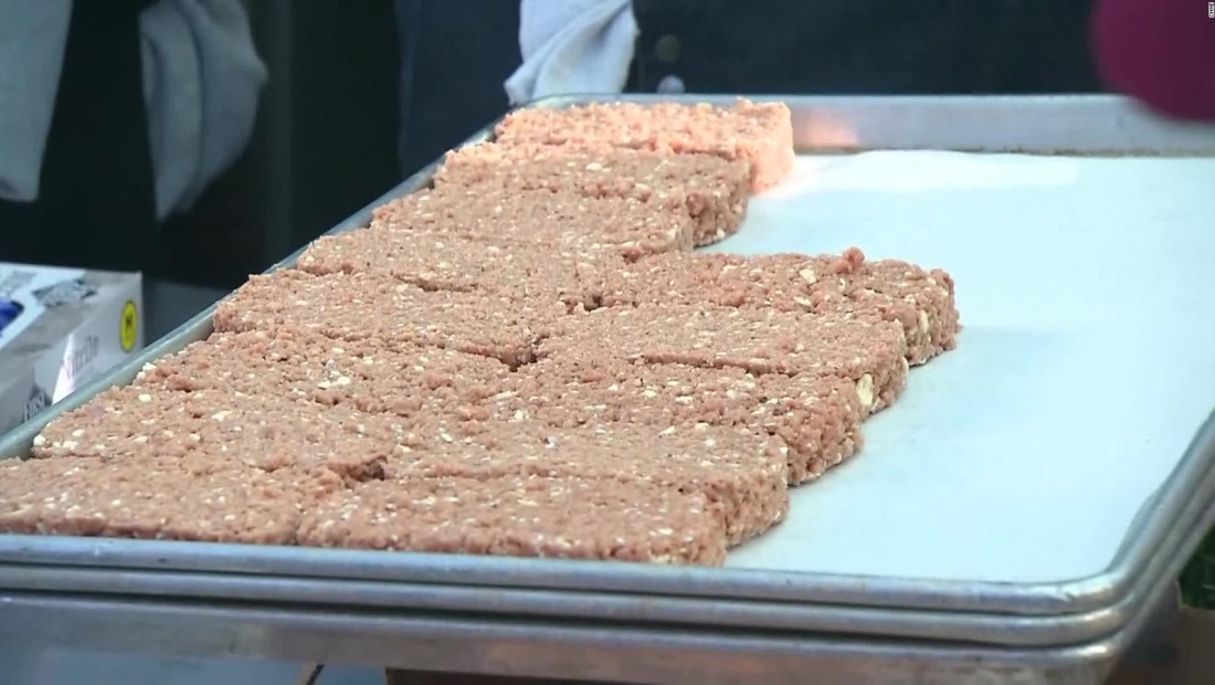 ¿Se imagina una hamburguesa sin carne?