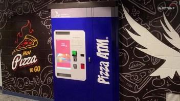 Cajero automático de pizza, en universidad de Florida