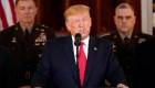 Trump: No hemos tenido daños ni bajas de militares