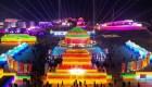 Inauguran una ciudad hecha de hielo en China