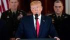 Donald Trump: más sanciones contra Irán