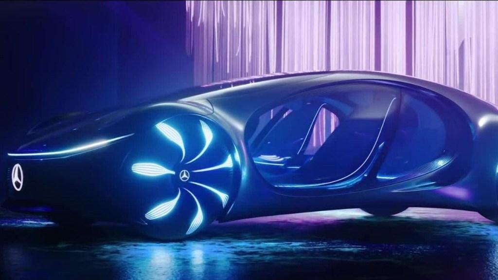 Un Mercedes-Benz sin volante y muy futurista