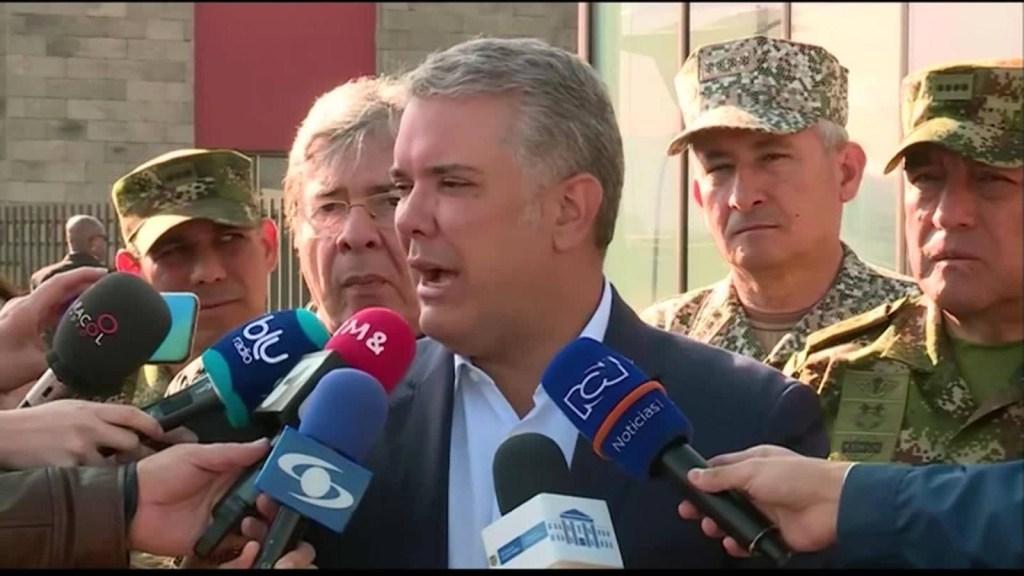 Duque: Todo indica que el ELN está detrás del ataque