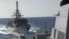 """""""Agresivo"""" encuentro entre buque de guerra ruso y portaviones de EE.UU."""