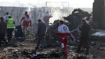 Varios países creen que Irán derribó avión ucraniano