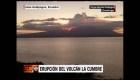 Ecuador: Erupción del volcán La Cumbre