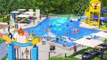 Así luce el hotel de Cartoon Network