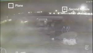 Video mostraría misiles impactando avión ucraniano
