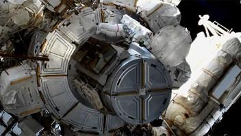 La primera caminata espacial del 2020 fue hecha por mujeres