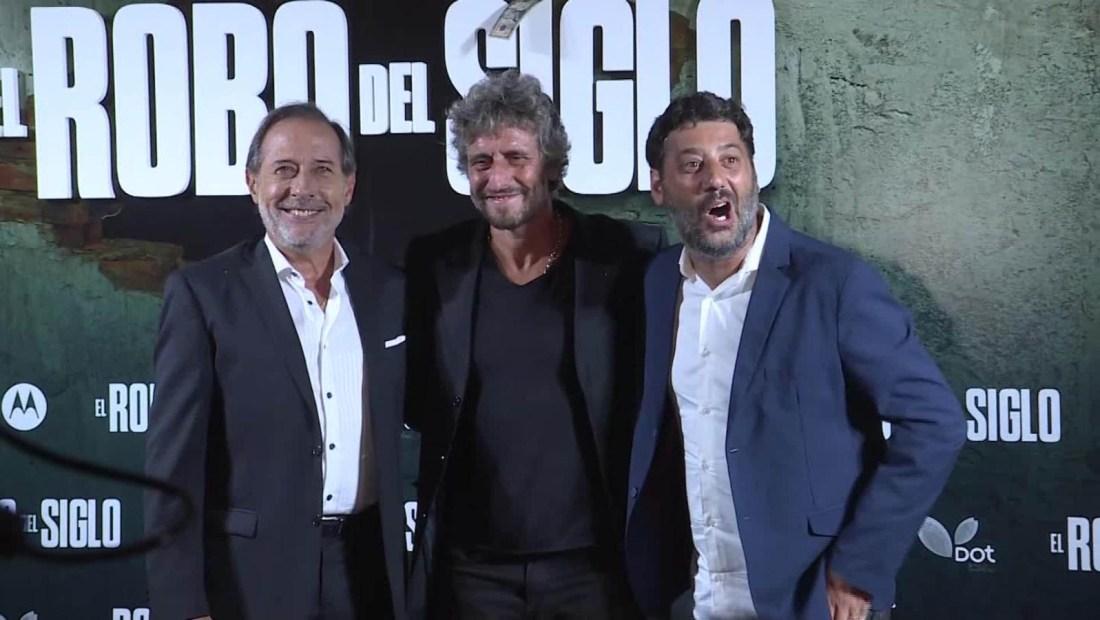 """Estrenan """"El robo del siglo"""", basada en millonario atraco de 2006"""