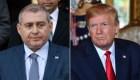 Trump niega conocer a Lev Parnas