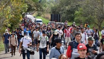 ¿Cuál es el plan de la nueva caravana migrante?