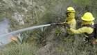 Autoridades evalúan daños en el cerro Casitagua