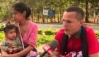 Conmovedor relato de una familia hondureña migrante