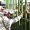 Tensión con migrantes en la frontera México-Guatemala