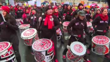 Estados Unidos: así fue la marcha de la mujer