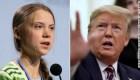 Greta y Trump, en desacuerdo una vez más