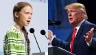 Nuevo cruce entre Donald Trump y Greta Thunberg