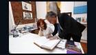 Cristina F. de Kirchner, presidenta temporal