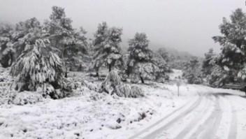 La tormenta Gloria causa estragos en España