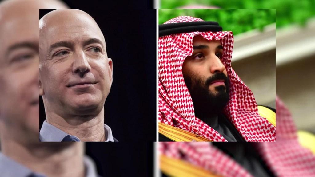 ¿El príncipe heredero saudí hackeó el celular de Jeff Bezos?
