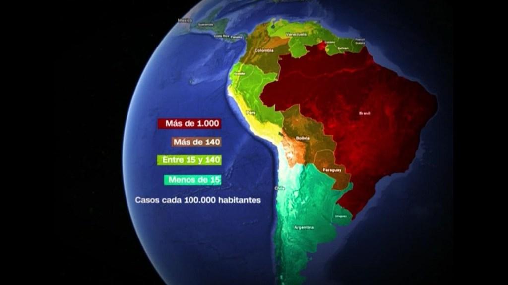 El dengue sigue afectando a América del Sur