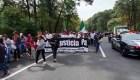 Marcha por la paz encabezada por Sicilia y familia LeBarón