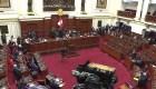 El Congreso de Perú, dividido